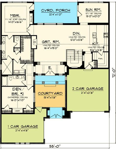 tuscan floor plans timeless tuscan with courtyard 89823ah architectural