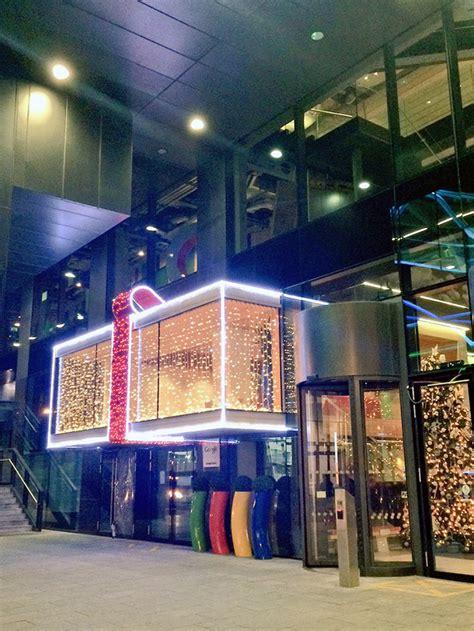 Dublin Google Office google s dublin office is a christmas gift box