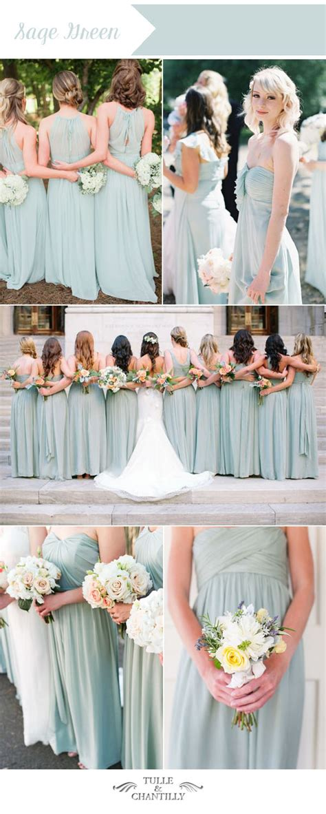wedding colour themes bridesmaid dresses etc top 10 wedding colors for summer bridesmaid dresses 2016