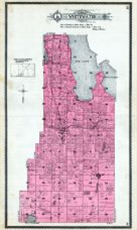 whitewater township, atlas: grand traverse county 1908