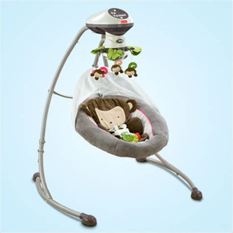 jungle theme swing fisher price cradle n swing giveaway