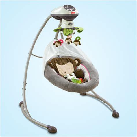 fisher price snugamonkey swing fisher price cradle n swing giveaway