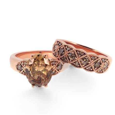 brown diamond pattern vintage pattern brown diamond wedding band haywards of