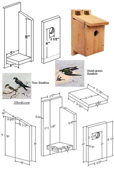pdf woodwork swallow bird house plans download diy plans
