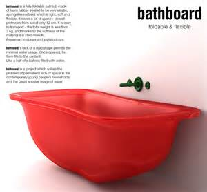 Fold Up Bathtub a bouncy bath yanko design