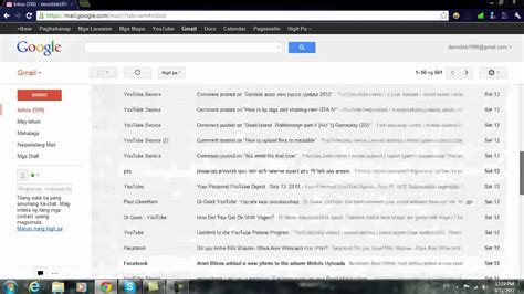 reset gmail language to english how to change your language on gmail youtube