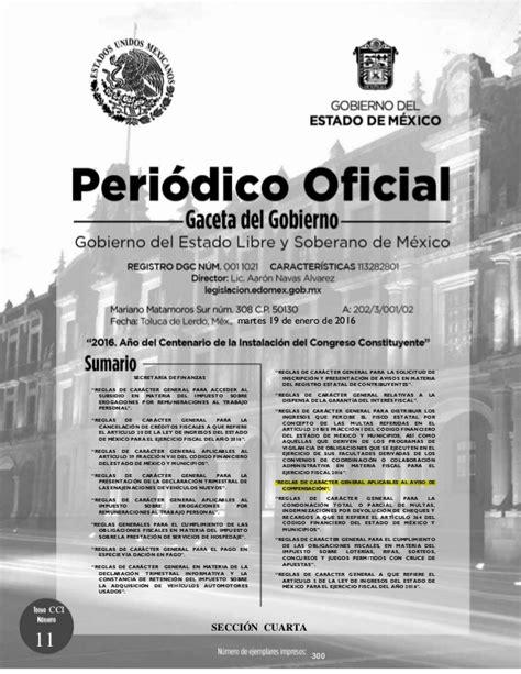gaceta del gobierno de mexico dinero urgente granada gaceta de gobierno del estado de mexico 17 de febrero de