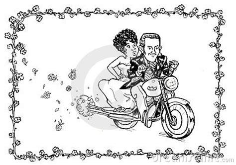 braut motor groom bride motorcycle stock image image 20430911