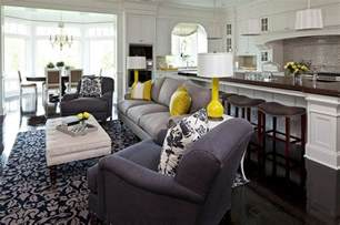 Yellow Grey Living Room Images Gray And Yellow Living Rooms Photos Ideas And Inspirations