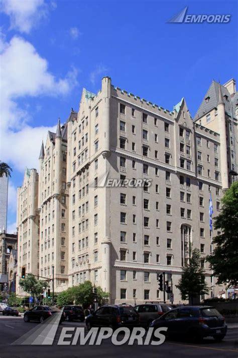 appartments montreal le chateau apartments montr 233 al 131945 emporis