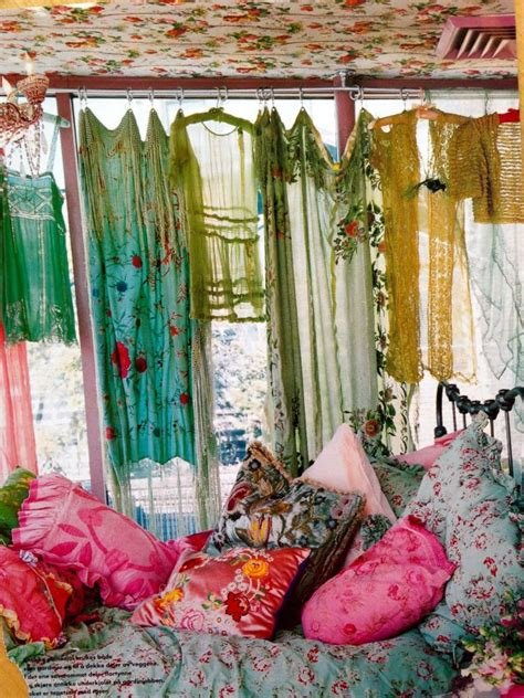 Bohemian Style Curtains How To Achieve Bohemian Or Boho Chic Style