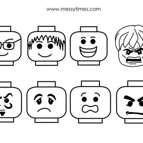 printable lego templates lego faces for mask lego pinterest activities tags