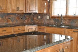 Granite Kitchen Backsplash by Granite Countertops And Tile Backsplash Ideas Eclectic