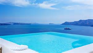 Infinity Pools In Greece Infinity Pool Suite Canaves Oia Santorini