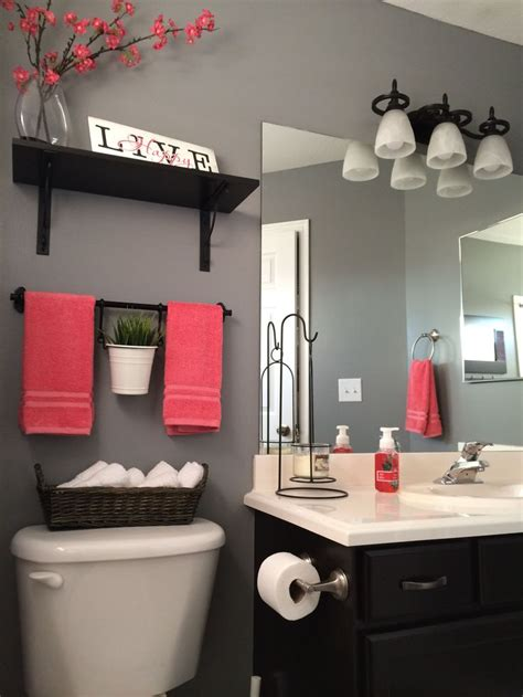 how to decorate a gray bathroom my bathroom remodel love it kohls towels kohls shower