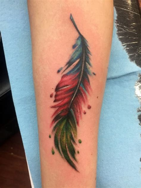 watercolor tattoos san diego watercolor tattoos funhouse san diego