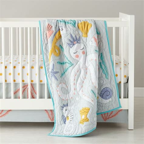 land of nod crib bedding marine queen crib bedding