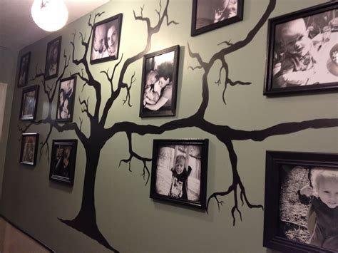 tree that hangs on the wall entergently our family tree wall