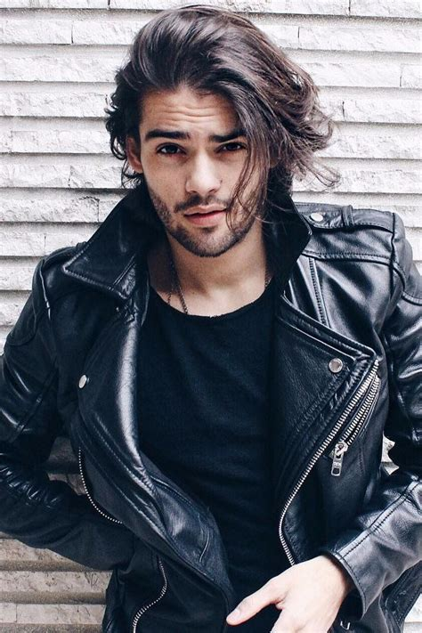 haircuts bad boy style 5718 best men s leather jackets images on pinterest
