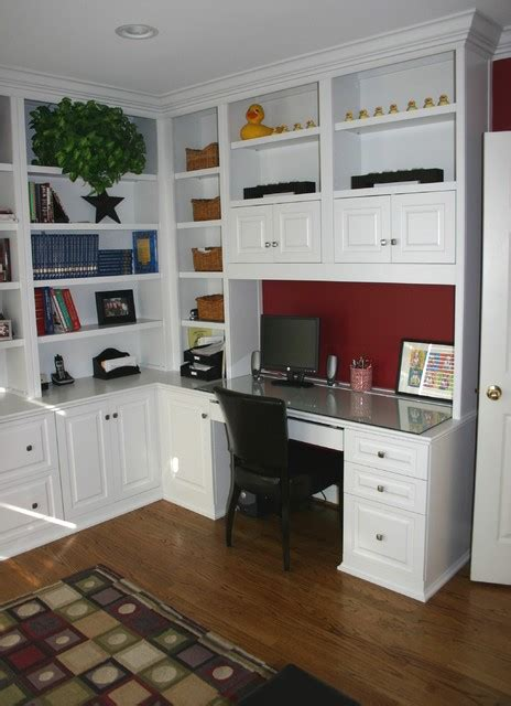 built in cabinets for home office built in cabinets traditional home office