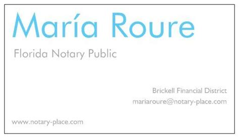 business card 2 jpg from roure florida notary in miami fl 33131