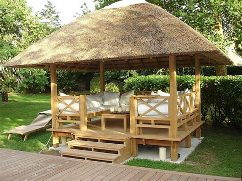 Home Styles Design Your Own Small Kitchen Cart Gazebo O Toque De Charme Que Todo Jardim Merece