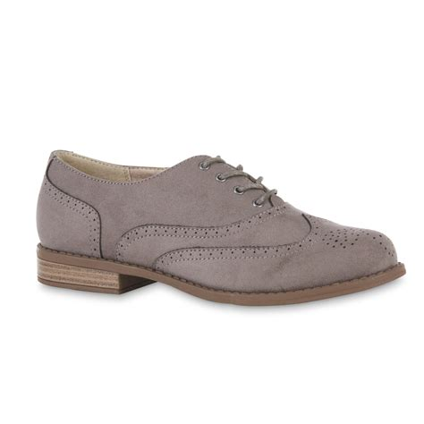 womens oxford shoes bongo s oksana gray oxford shoe
