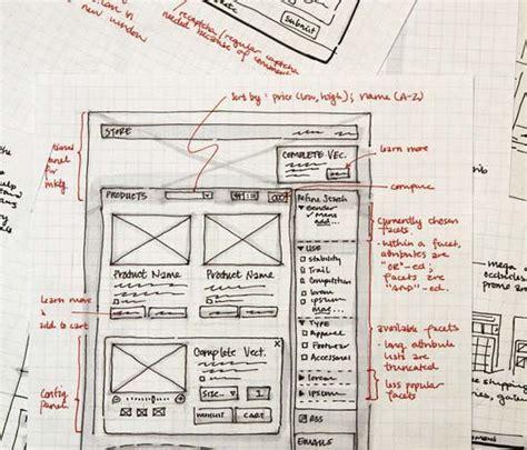 sketchbook website design 40 exles of web design sketches and wireframes