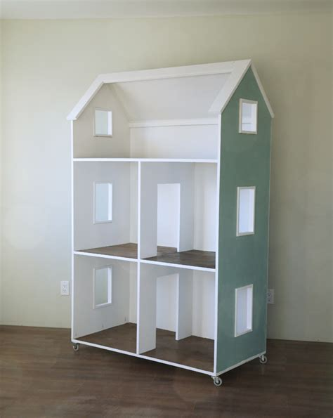 diy doll house ana white three story american girl or 18 quot dollhouse diy projects