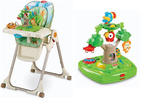 Rainforest Healthy Care High Chair 79 98 Reg 140 Fisher Price High Chair Free Shipping