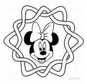 Cartoon  Printable Mickey Mouse Face Coloring Pages Tone