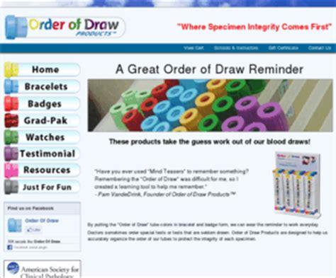 orderofdraw.com: order of draw blood drawing memory tool