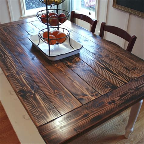 Diy Table Top by Home Dzine Home Diy Dining Table Top Makeover With