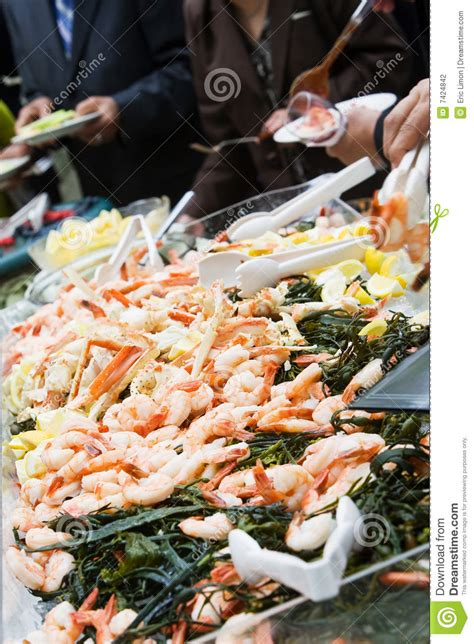 seafood buffet hours seafood buffet stock photography image 7424842