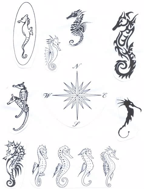 seahorse tattoo meaning celtic seahorse designs tattoomagz