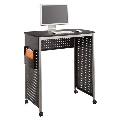 safco products scoot stand up desk 1908bl stand up