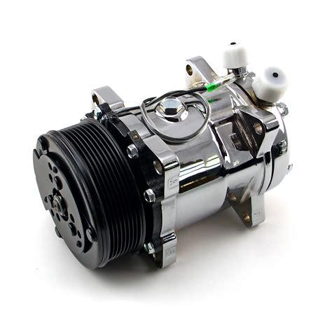 serpentine belt sanden  sytle chrome air compressor ebay