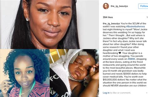 basketball wives la s jackie christie gets drunk on love jackie christie of basketball wives la put on blast for
