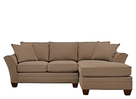 foresthill sectional foresthill 2 pc microfiber sectional sofa khaki