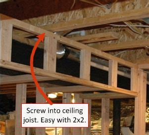how to build a soffit in basement 25 best ideas about framing basement walls on