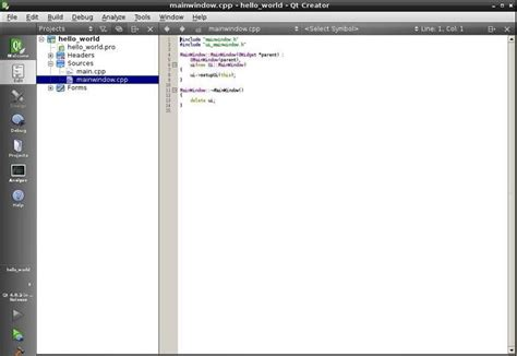 qt programming on raspberry pi how to write a qt program to display hello world in