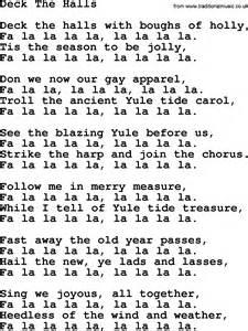 deck the halls lyrics joan baez deck the halls lyrics