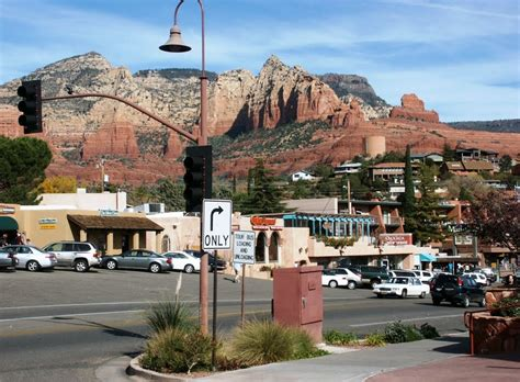 sedona arizona panoramio photo of downtown sedona