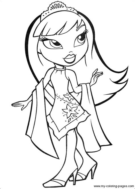 13 Bratz Coloring Page Print Color Craft Coloring Pages For 13 And Up Printable