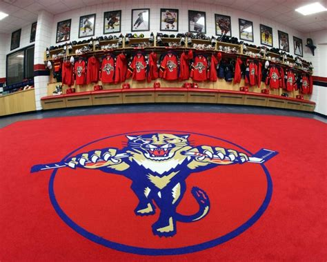 Panthers Locker Room by Panthers Locker Room Florida Panthers