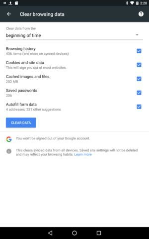 the paranoid android traveler's data protection checklist
