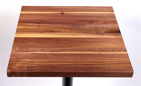 walnut butcher block restaurant table tops sir belly
