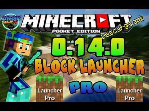 block launcher apk apk de block launcher pro para mcpe 0 9 2 oficial