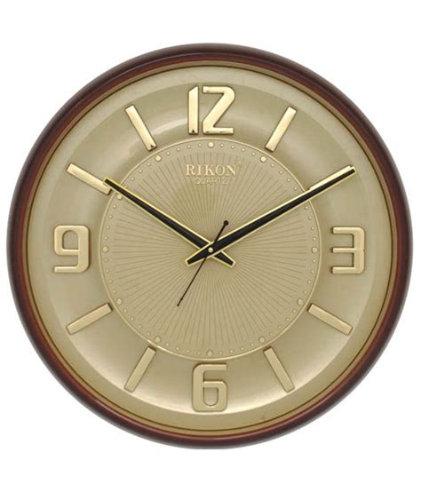 clock buy rikon quartz wall clock buy rikon quartz wall clock at best price in india on snapdeal