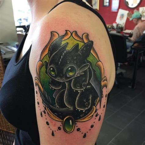 how to train your dragon tattoo fyeahtattoos
